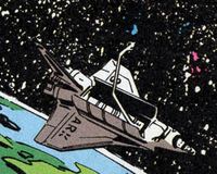 ESA Shuttle from X-Force Vol 1 20 001
