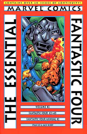 Essential Series Fantastic Four Vol 1 2