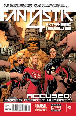 Fantastic Four Vol 5 5