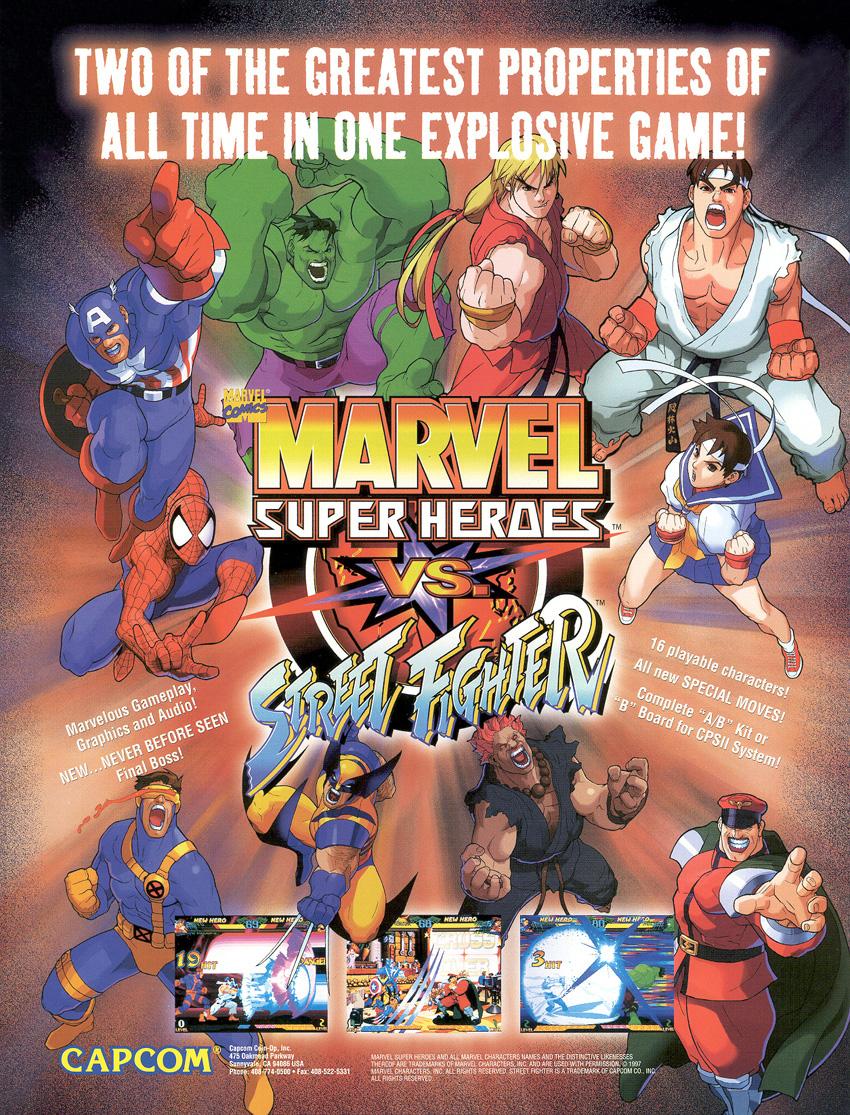 Marvel Super Heroes vs  Street Fighter | Marvel Database