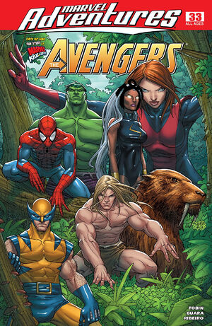 Marvel Adventures The Avengers Vol 1 33