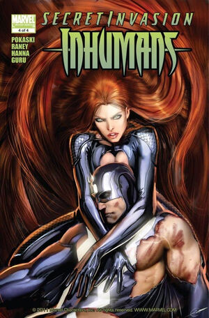Secret Invasion Inhumans Vol 1 4