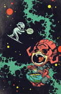 Silver Surfer Vol 7 1 Baby Variant Textless