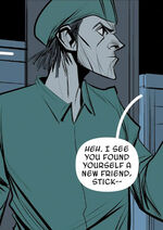 Stick (Earth-65) from Spider-Gwen Vol 2 28