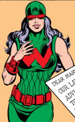 Wonder Woman (Earth-34828) from What If? Vol 1 34