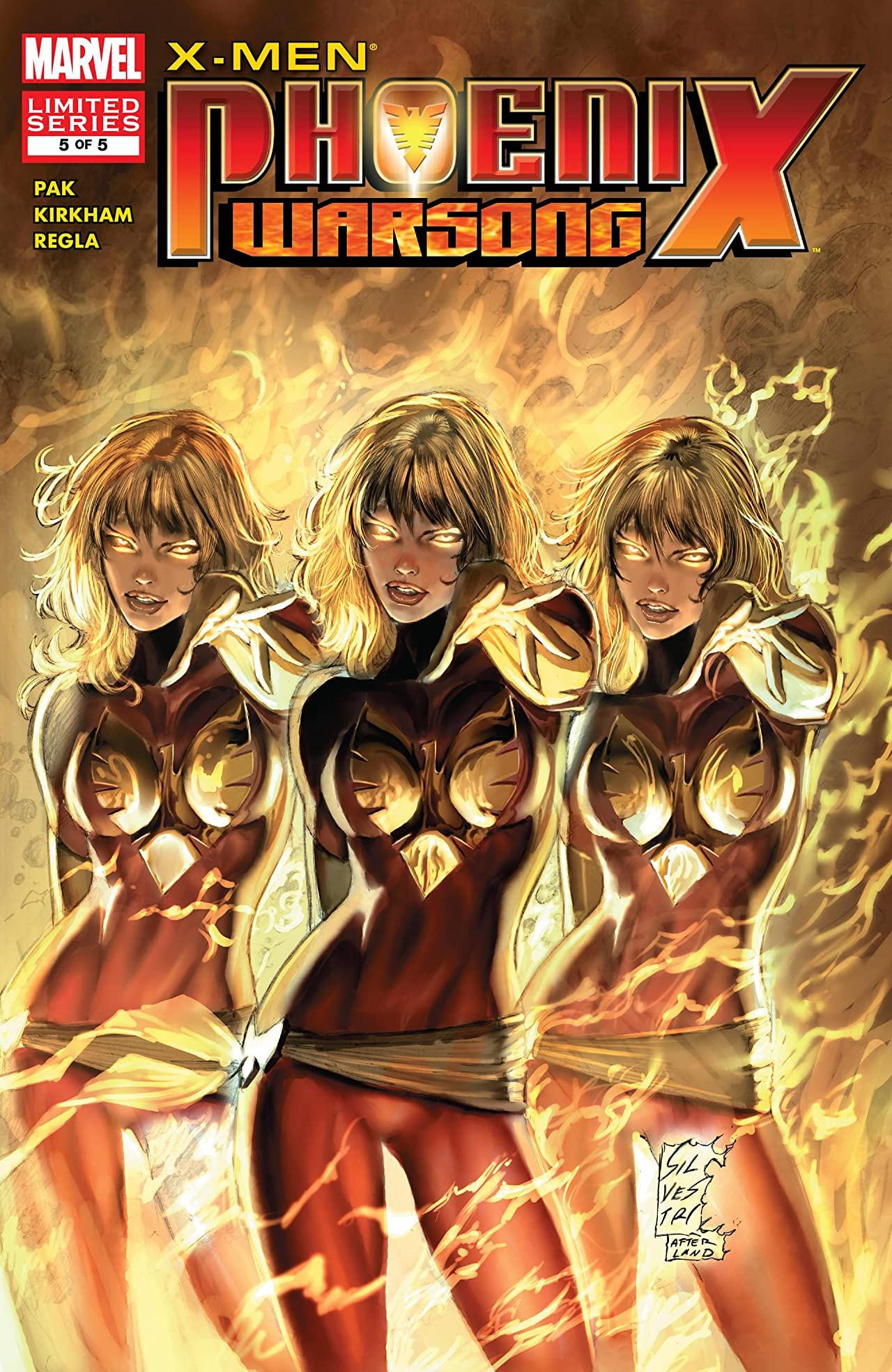 X-Men Phoenix Warsong Vol 1 5