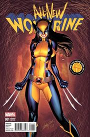 All-New Wolverine Vol 1 1 Cargo Hold Exclusive Variant