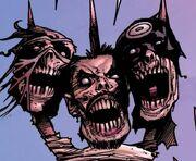 Bullseye (Lester) (Earth-13264), Sergei Kravinoff (Earth-13264) from Marvel Zombies Vol 2 4 0001