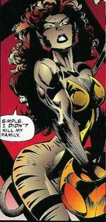 Lucia Callasantos (Earth-616) from X-Force Vol 1 40 001