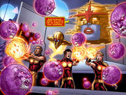 Nova Corps (Earth-616) and Egros (Earth-616) from Nova Vol 4 29 001