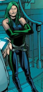 Ophelia Sarkissian (Earth-11131) from M.O.D.O.K. Assassin Vol 1 2 0001