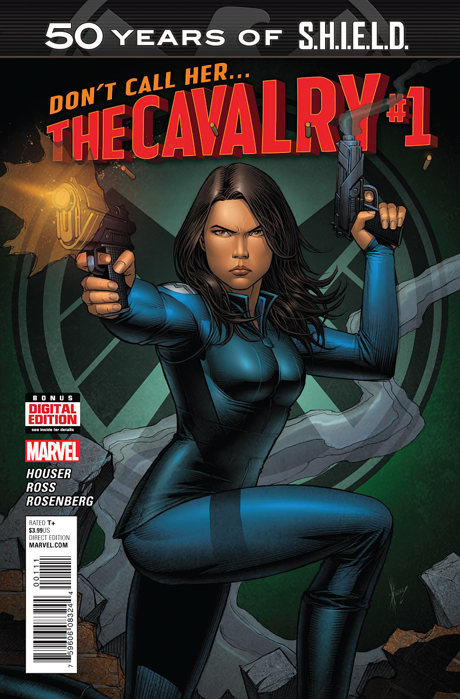 CAVALRY SHIELD 50TH ANNIV #1 ACTION FIGURE VARIANT COVER MARVEL MELINDA MAY NEW