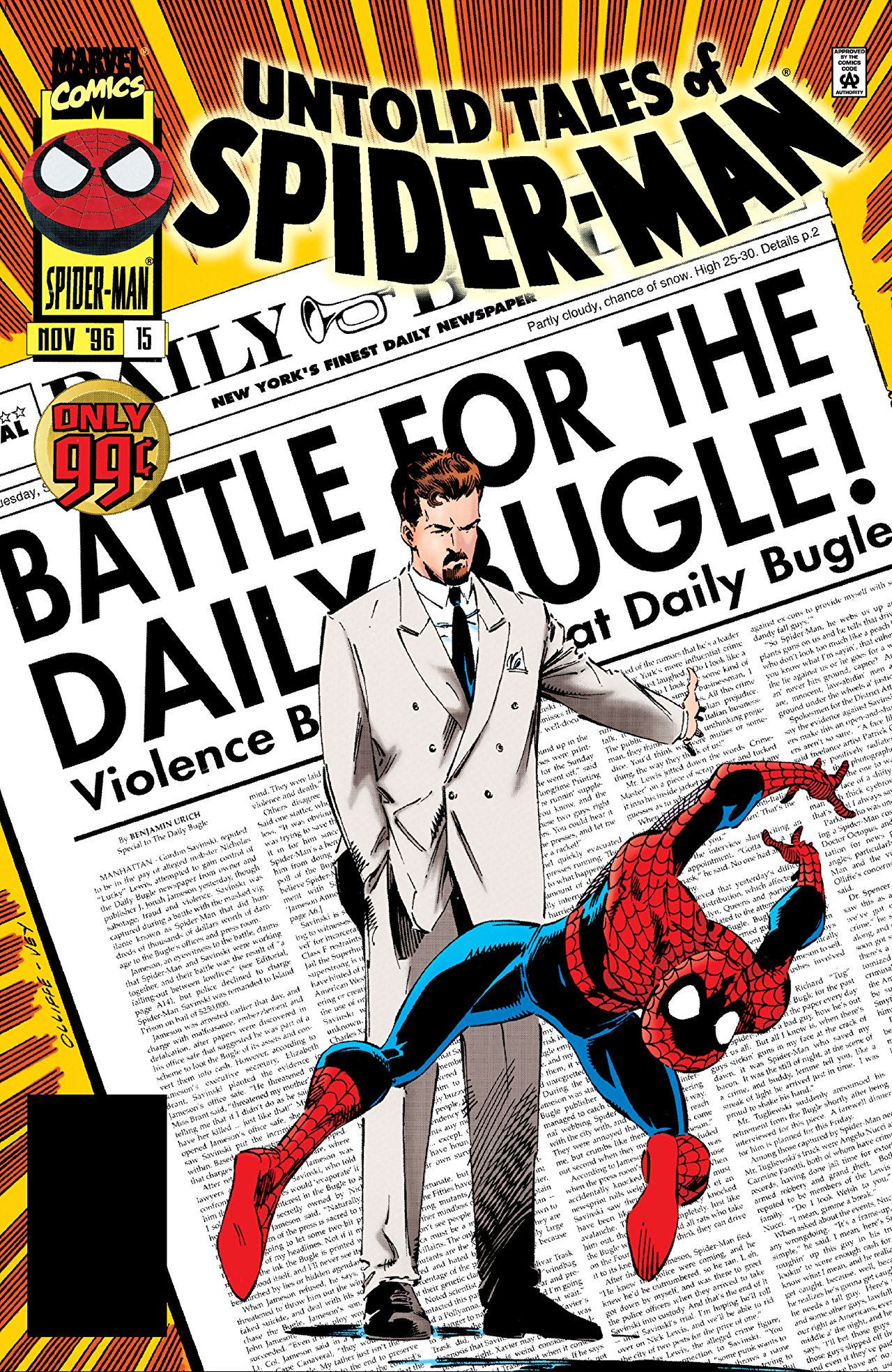 Daily Bugle for Spiderman Peter Parker 1//6 Scale Newspaper 3 Pack