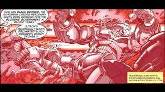 Avengers Endless Wartime The History of Slorenia - Marvel AR
