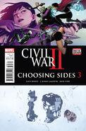 Civil War II Choosing Sides Vol 1 3