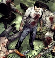 Frank Castle (Earth-58163) from House of M Avengers Vol 1 2 001