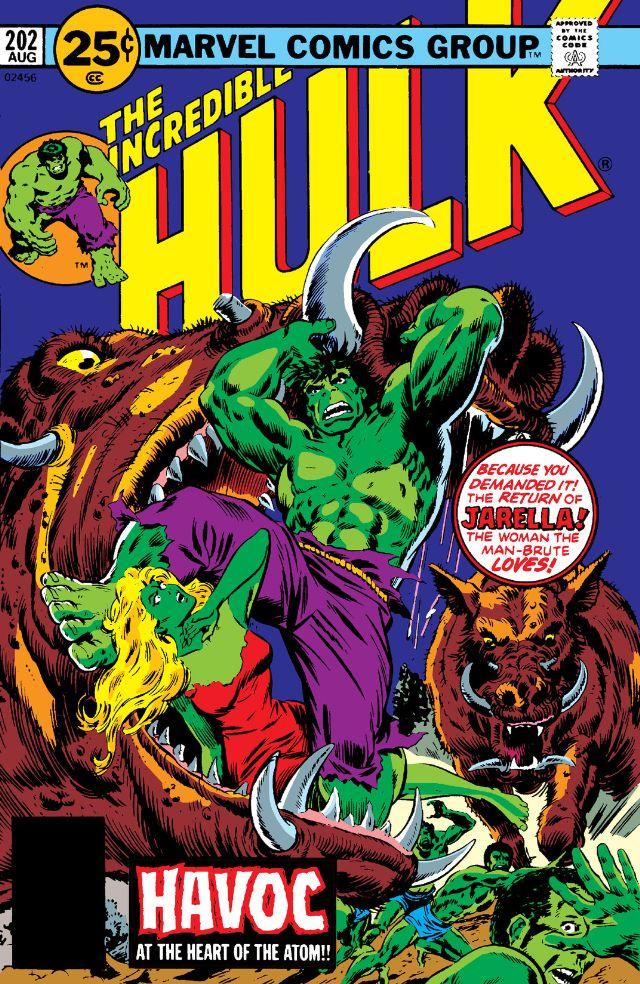 Incredible Hulk Vol 1 202