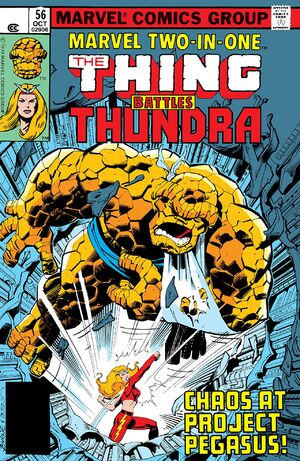 Marvel Two-In-One Vol 1 56