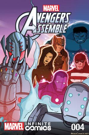 Marvel Universe Avengers Infinite Comic Vol 1 4