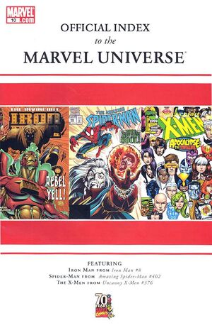 Official Index to the Marvel Universe Vol 1 10