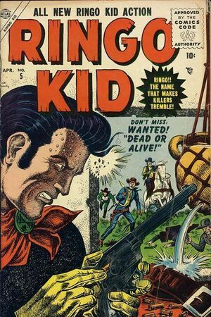 Ringo Kid Vol 1 5