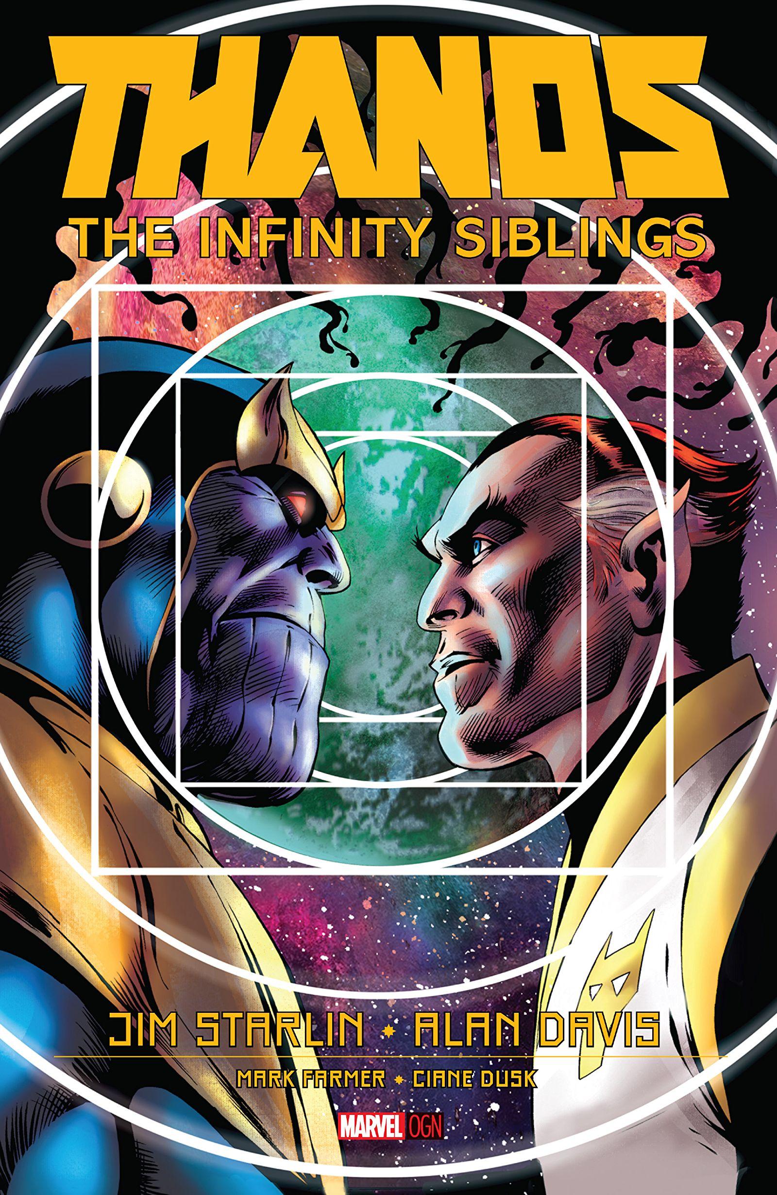 thanos the infinity siblings vol 1 1 marvel database fandom
