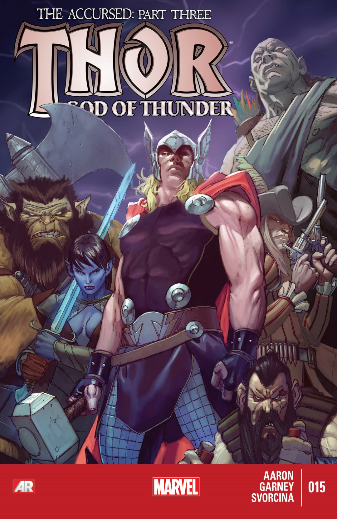 Thor: God of Thunder Vol 1 15 | Marvel Database | FANDOM ...  Thor