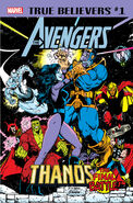 True Believers Avengers - Thanos The Final Battle! Vol 1 1