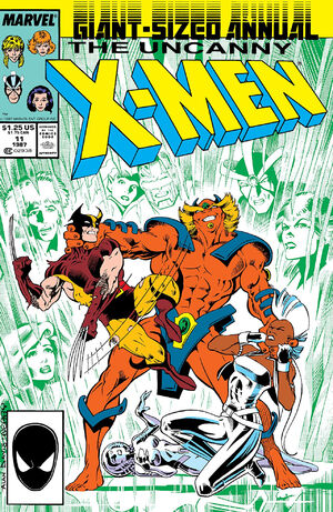 Uncanny X-Men Annual Vol 1 11