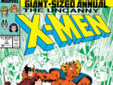 Uncanny X-Men Annual Vol 1 1987
