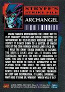 X-Men Vol 2 16 Trading card back