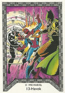 Alexander Summers and Peter Parker (Earth-616) Spider-Man Team-Up (Trading Cards) 0001