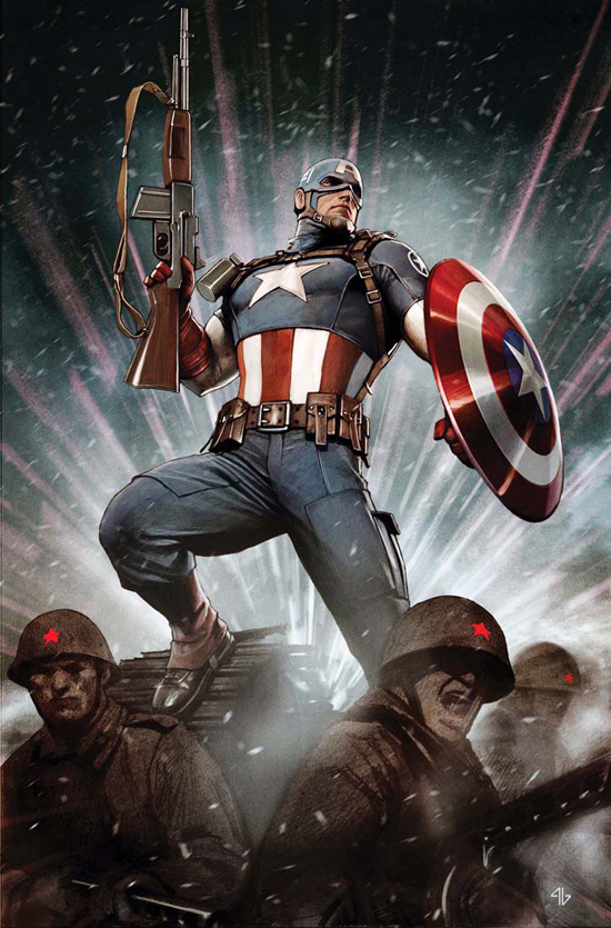 Astonishing Captain America Vol 1 1 Textless