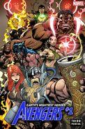 Avengers Vol 8 1 Third Printing Variant