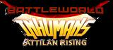 Battleworld Inhumans Attilan Rising (2015) logo