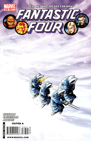 Fantastic Four Vol 1 576