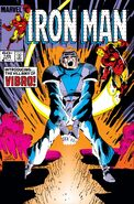 Iron Man Vol 1 186