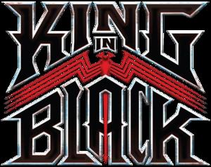 King in Black Vol 1 logo