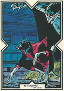 Kurt Wagner (Earth-616) from Excalibur Trading Cards 0001