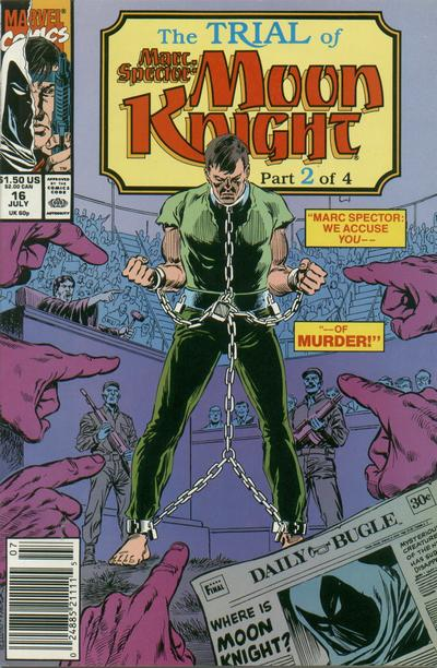 Image result for marc spector moon knight 16