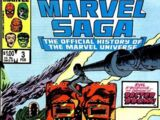 Marvel Saga the Official History of the Marvel Universe Vol 1 3