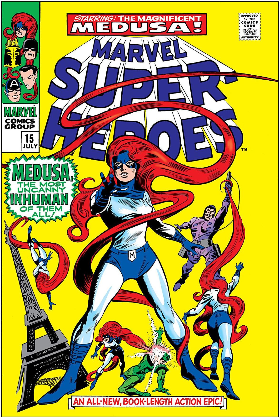 Marvel super heroes vol 1 15 marvel database fandom powered by wikia - Super heros fille marvel ...