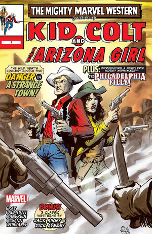 Marvel Westerns Kid Colt and the Arizona Girl Vol 1 1