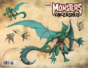 Monsters Unleashed Vol 2 1 New Monster Wraparound Variant