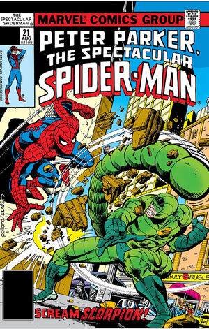 Peter Parker, The Spectacular Spider-Man Vol 1 21