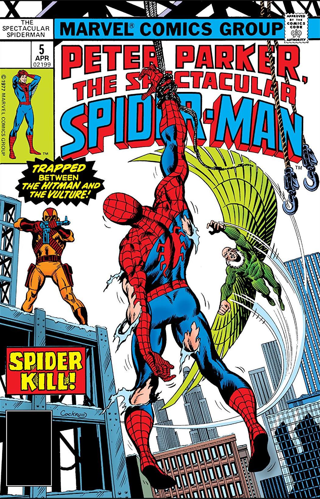 Peter Parker, The Spectacular Spider-Man Vol 1 5