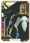 Sergei Kravinoff and Peter Parker (Earth-616) from Mike Zeck (Trading Cards) 0001