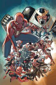 Spider-Geddon Vol 1 5 Silva Variant Textless