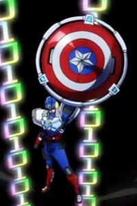 Steven Rogers (Earth-14042) from Marvel Disk Wars The Avengers Season 1 30 001