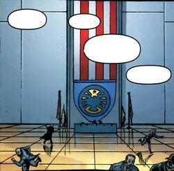 Strategic Hazard Intervention Espionage Logistics Directorate (Earth-200111) from Fury Vol 2 6 0001